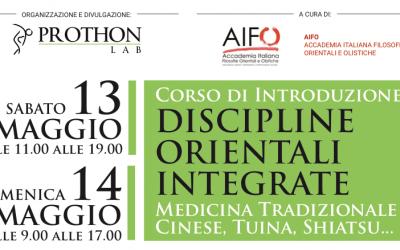 Corso di Introduzione: Discipline Orientali Integrate, Medicina Tradizionale Cinese, Tuina, Shiatsu…